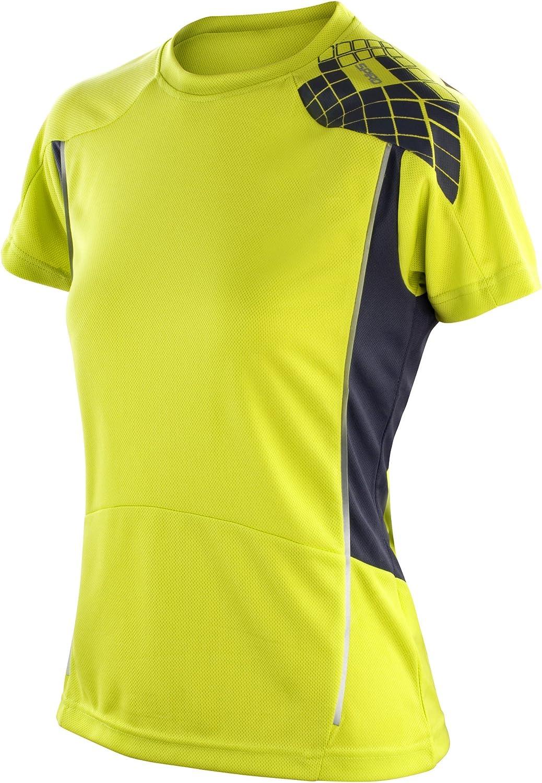 TALLA XS. Spiro Camiseta de deporte Performance para chica/mujer