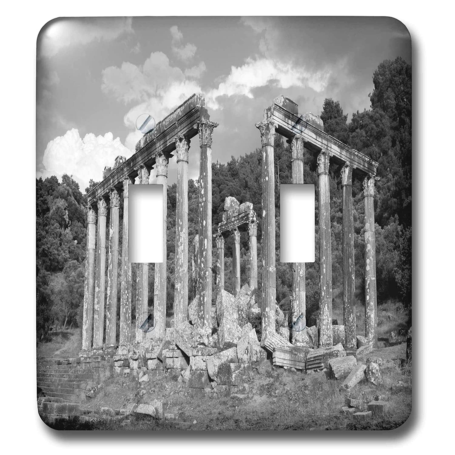 3drose taiche photography euromos euromos ruins black and white photography light switch covers double toggle switch lsp 299361 2 amazon com