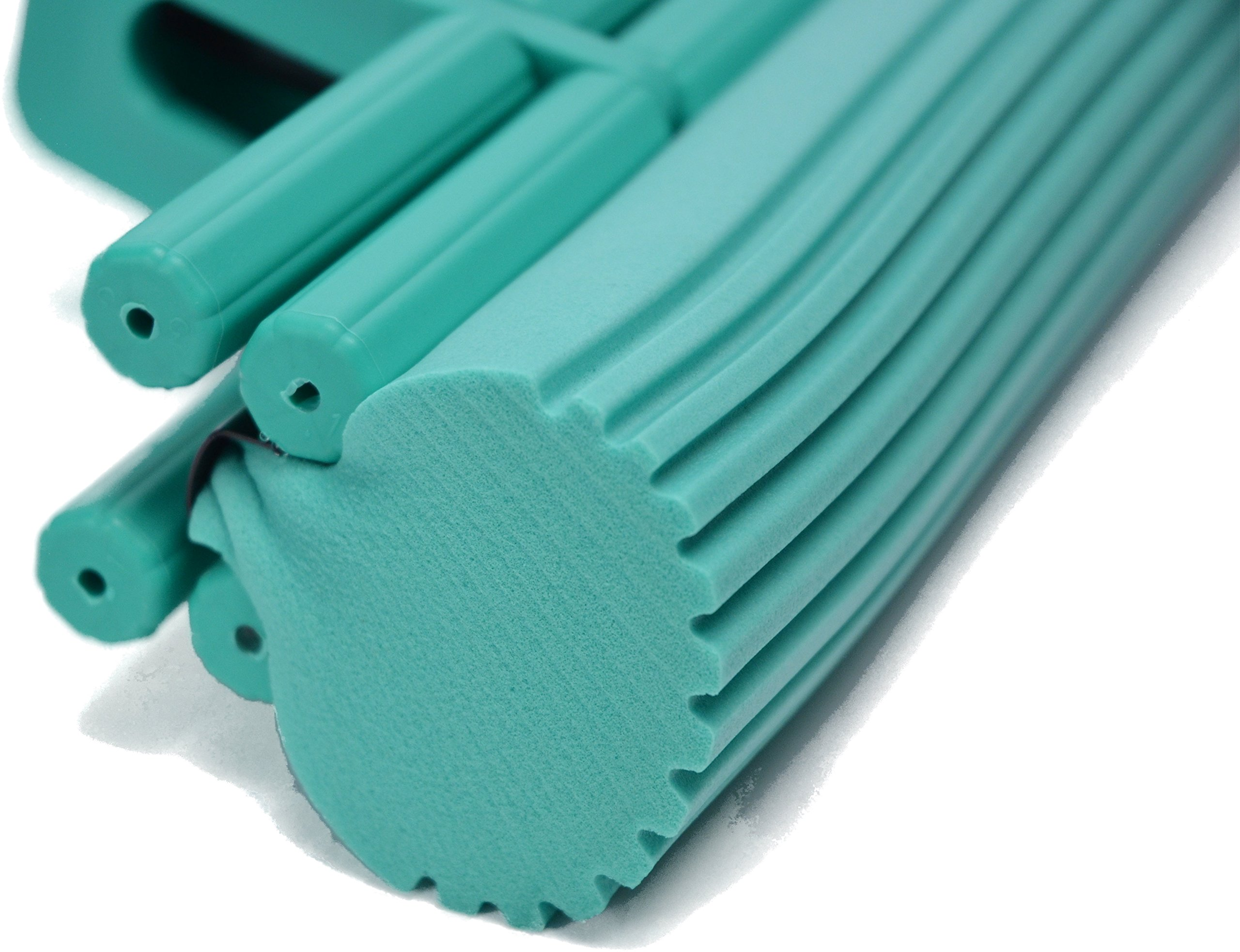The Super Standard 11'' Double Roller PVA Sponge Mop Set (Mop and 1 Extra Refill) by The Super (Image #3)
