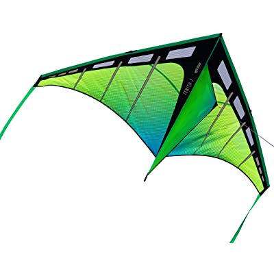 Prism Kite Technology Zenith 7 Aurora Single Line Kite, Ready to Fly with line, Winder and Travel Sleeve : Sports & Outdoors