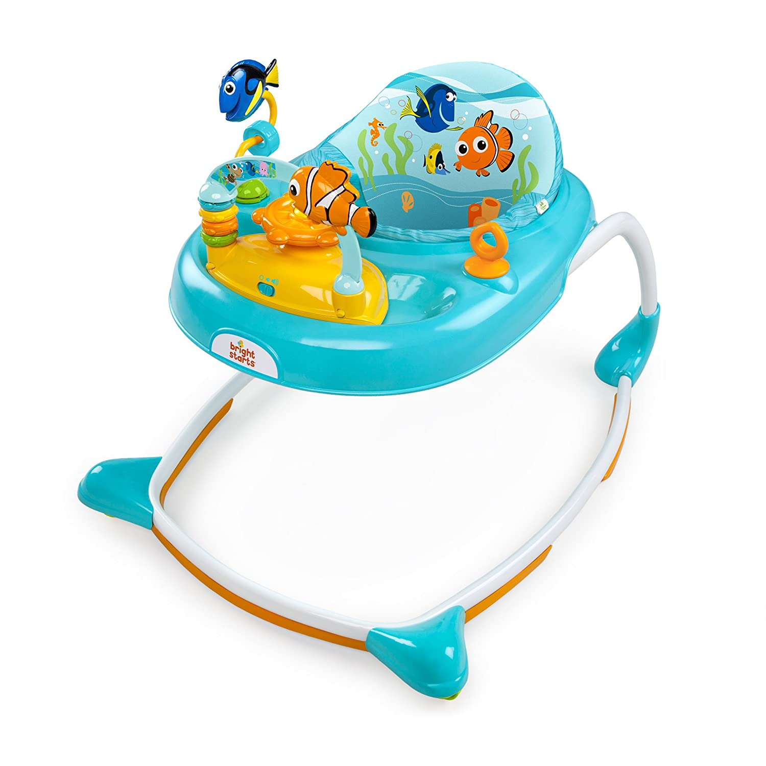 Disney Baby Finding Nemo Sea And Play Walker, Blue By