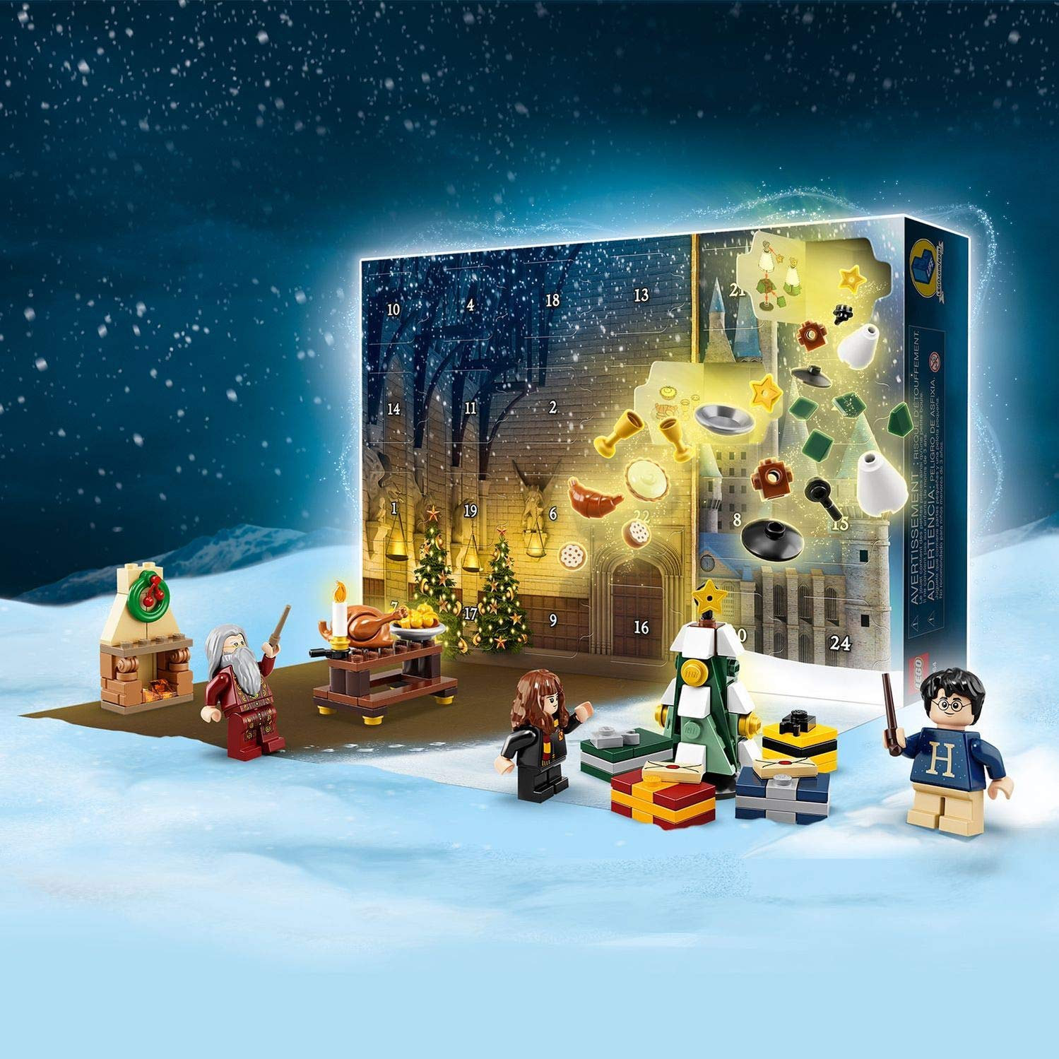 calendario adviento lego harry potter 2019