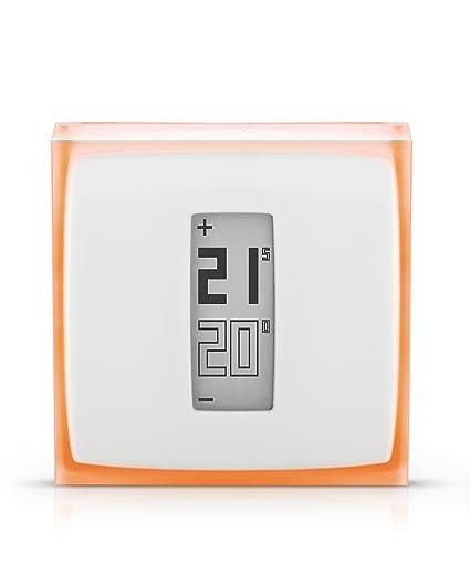 Netatmo NTH01-EN-EU, Termostato Inteligente Para Caldera Individual
