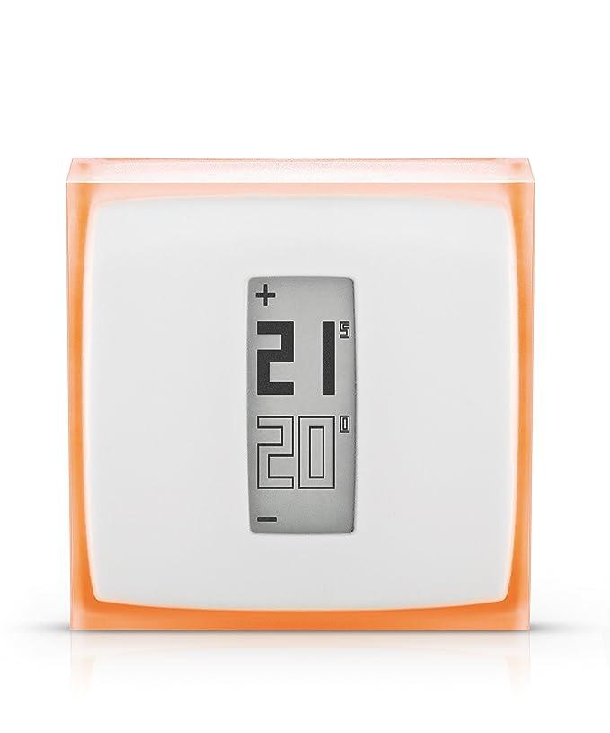 150 opinioni per Netatmo by Starck- Termostato Intelligente per caldaia individuale, 83x83x22 mm