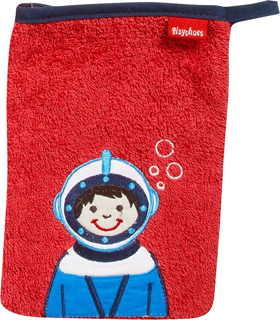 Playshoes 340093 Frottee-Waschhandschuh Taucher