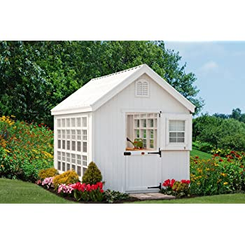 Little Cottage Company Colonial Gable Greenhouse 8'x12' DIY Greenhouse Kit