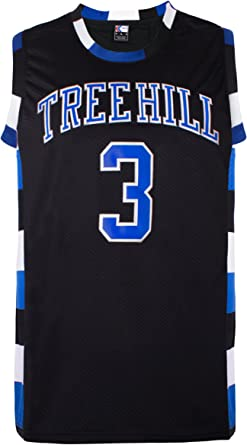 MOLPE Scott #23 Tree Hill Ravens Jersey, Halloween Costume, Stitched Name and Numbers