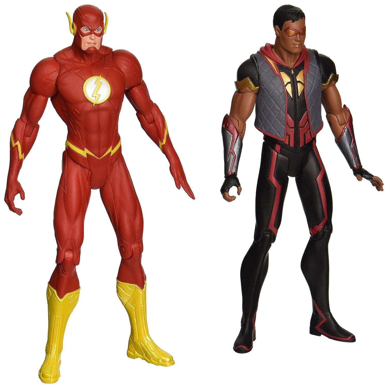 DC Collectibles DC Comics 52 52 52 die Flash vs. Vibe Action Figur, 2er Pack 93a637