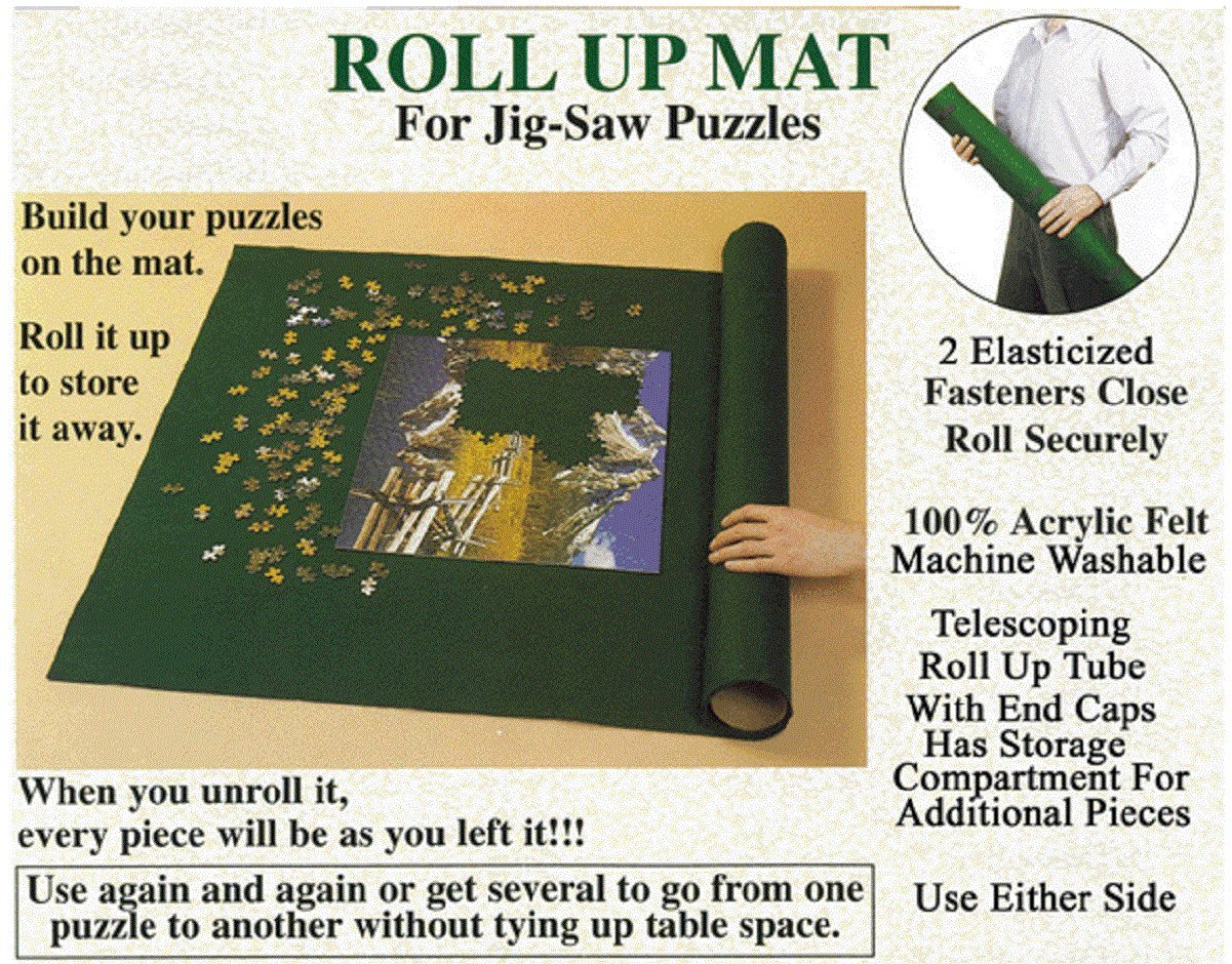 Puzzle Master Jigsaw Puzzle Roll up Storage System Large 36 X 24