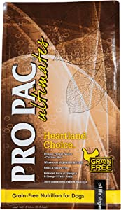 Pro Pac Ultimates Heartland Choice Grain Free Dry Dog Food, 5 Lb
