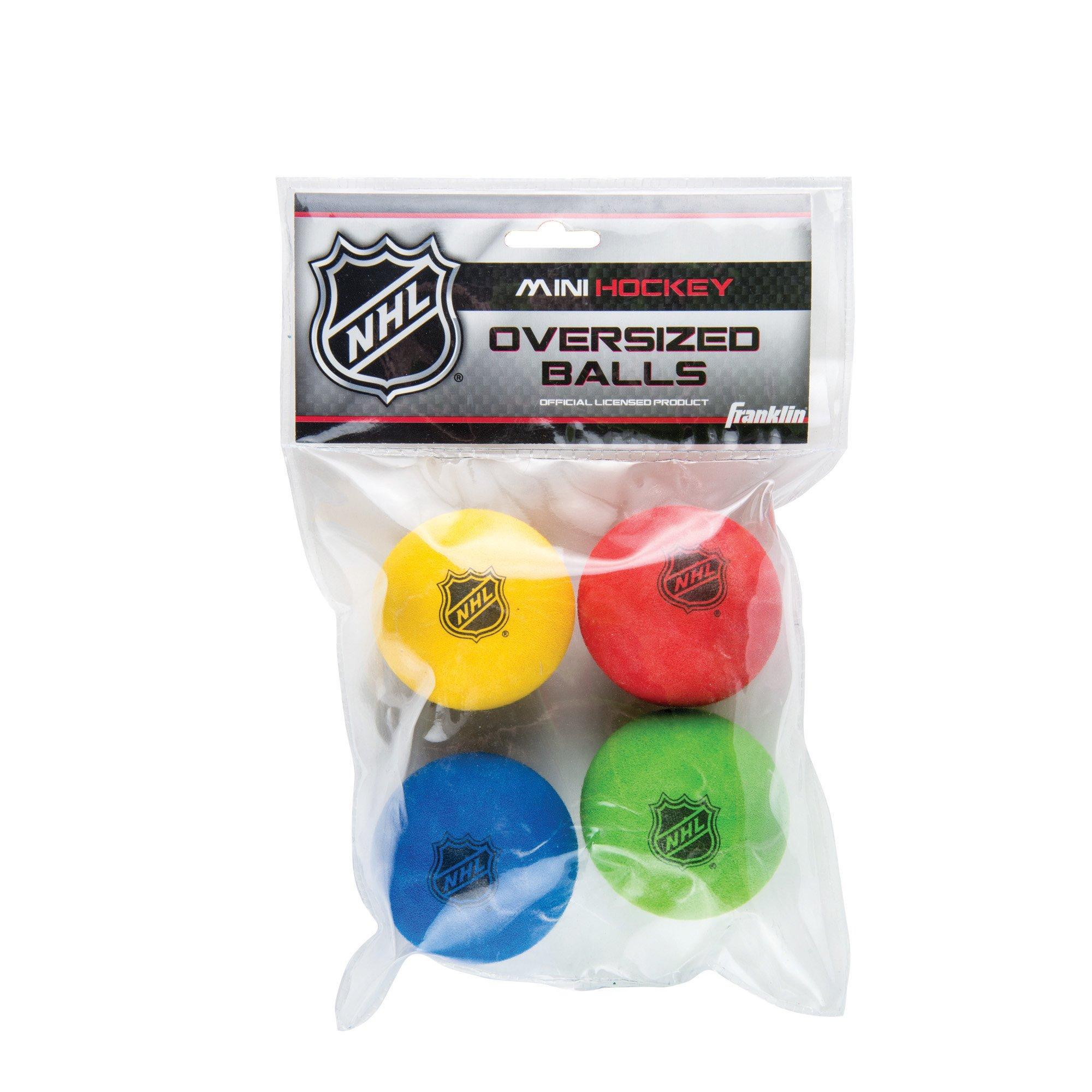 Franklin Sports Large Mini Hockey Balls - NHL