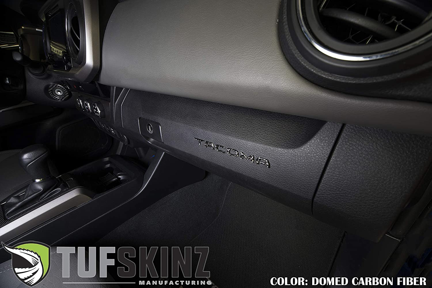 Glove Box Inserts - 2016-up Tacoma Tan Quicksand 6 Piece Kit TufSkinz