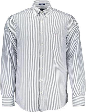Gant 1803.3056700 - Camisa de manga larga para hombre (3 XL): Amazon.es: Ropa y accesorios