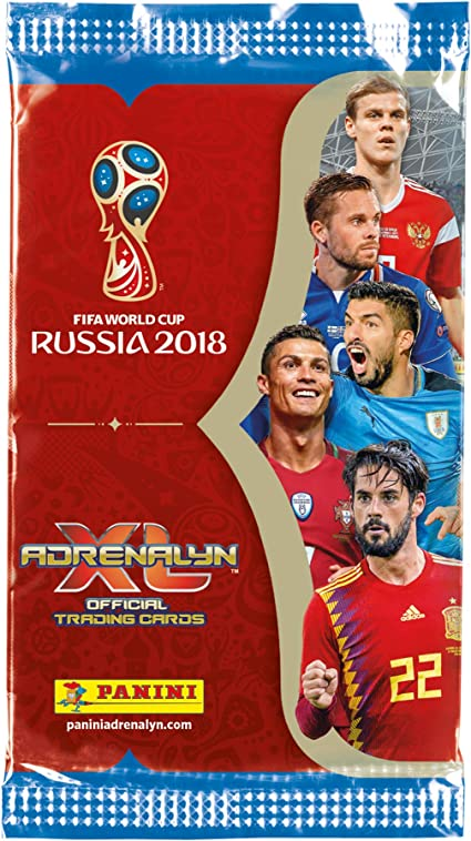 Panini FIFA World Cup Russia 2018 Starter-set 5 Booster 30 Cards