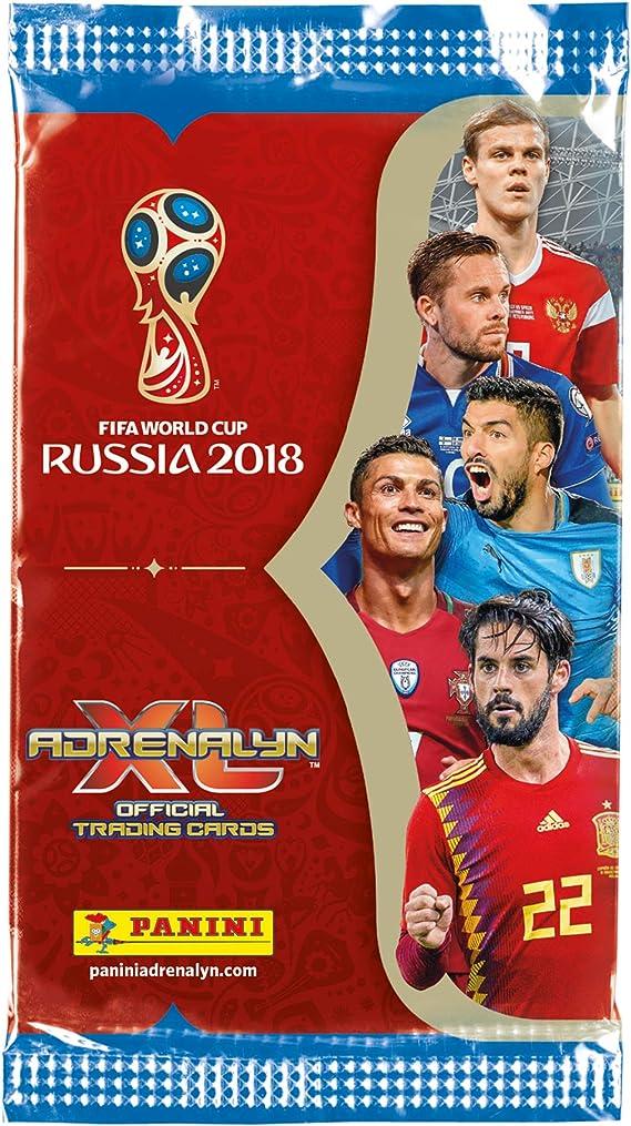 Panini Adrenalyn XL 2018 FIFA World Cup ™ Juego de cartas coleccionables de la Copa del mundo de la FIFA de 2018: Amazon.es: Juguetes y juegos