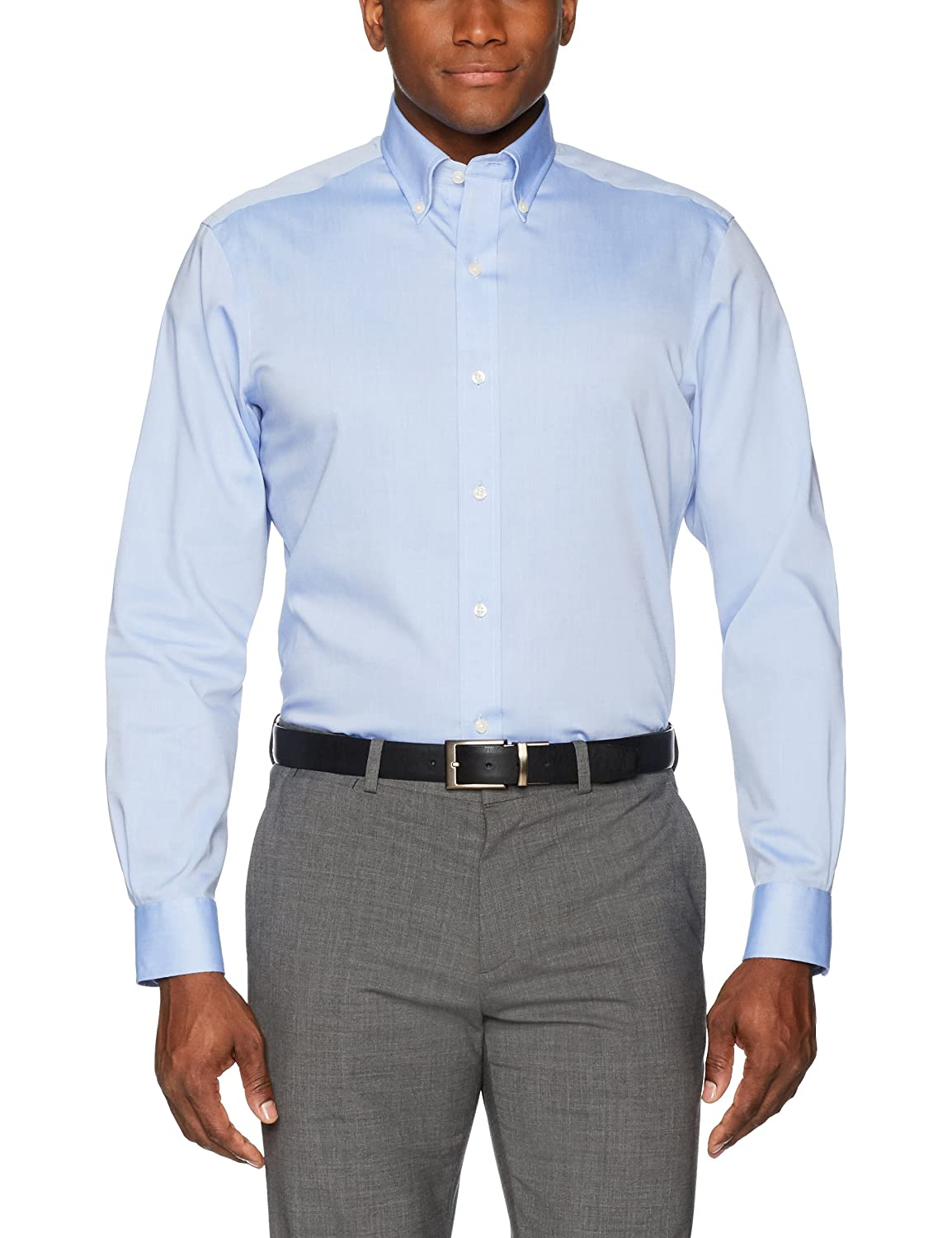 Amazon Buttoned Down Mens Classic Fit Button Collar Solid