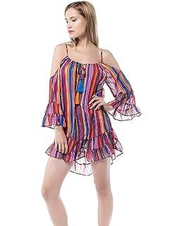 Robe de Femme Robes pour Femmes Sophistiqué Plus Size en Mousseline ... 6f1658bcb119