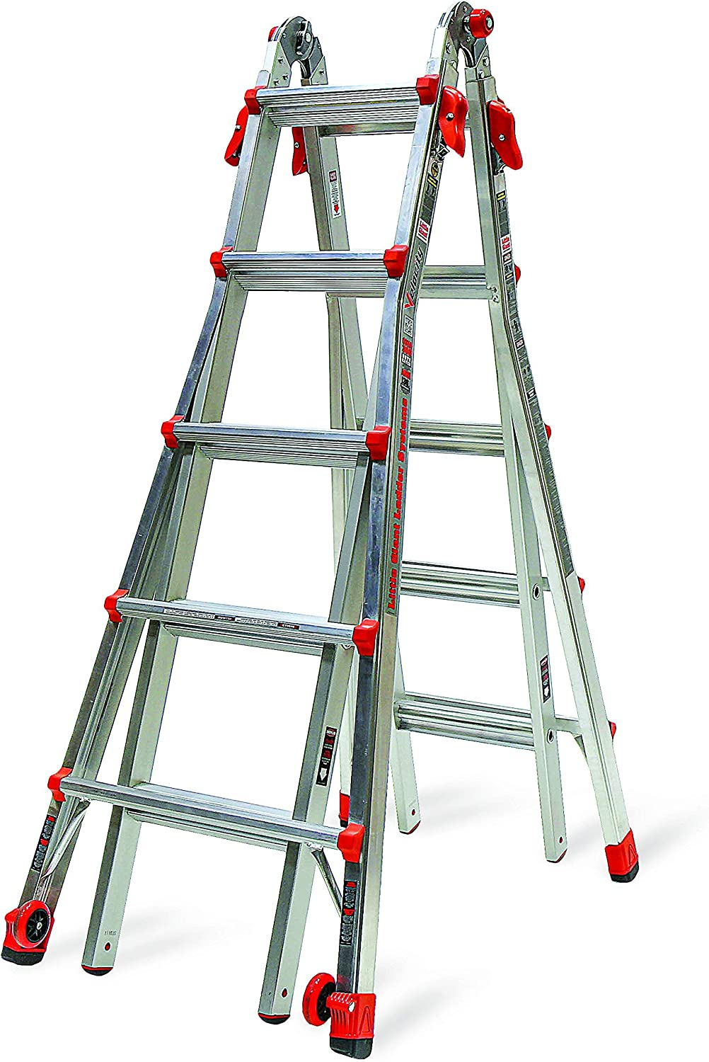 Little Giant 22-Foot Velocity Multi-Use Ladder, 300-Pound Duty Rating, 15422-001 (Renewed)