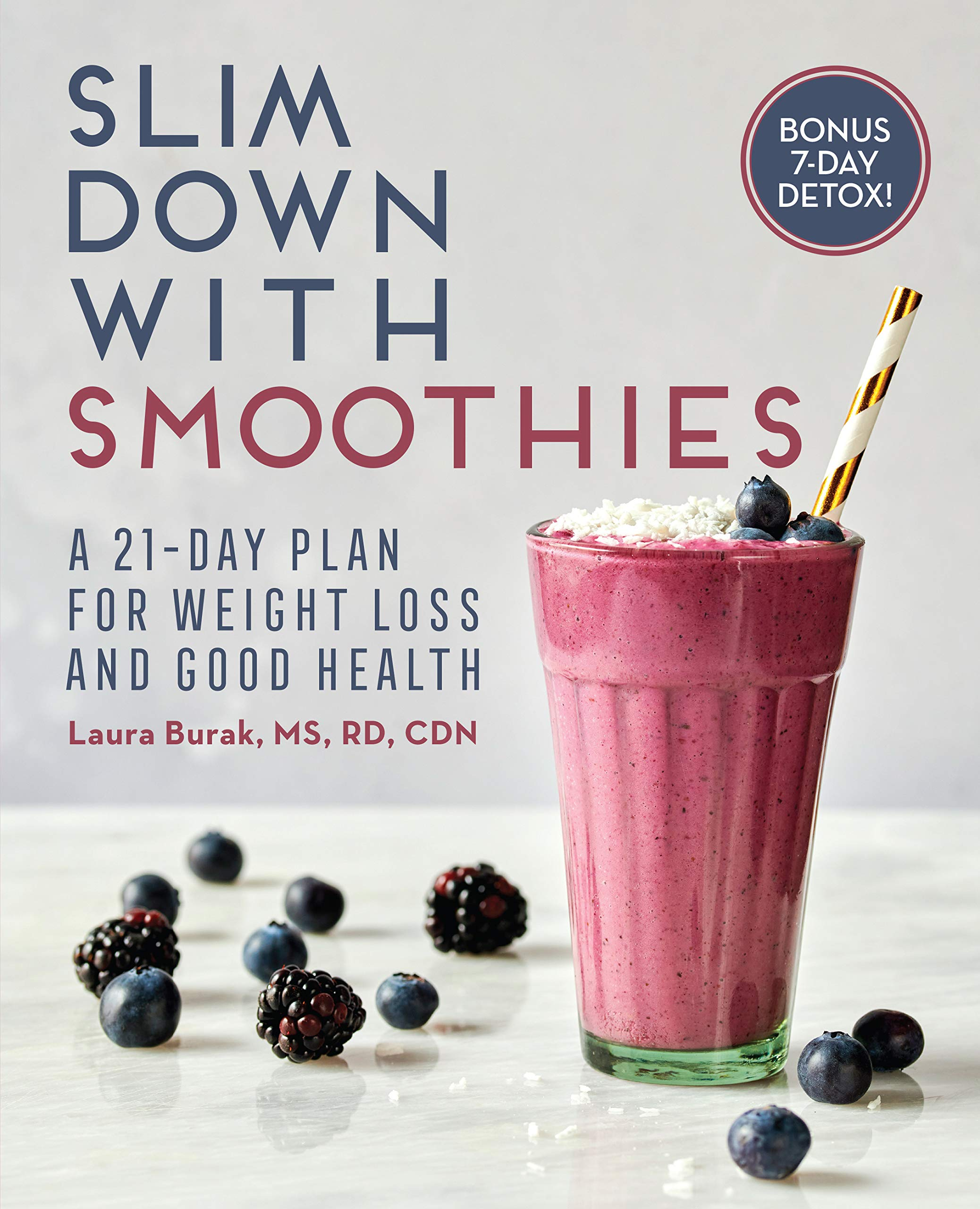 Slim Down with Smoothies: A 21-Day Plan for Weight Loss and Good Health:  Burak RD MS CDN, Laura: 9781646117079: Amazon.com: Books