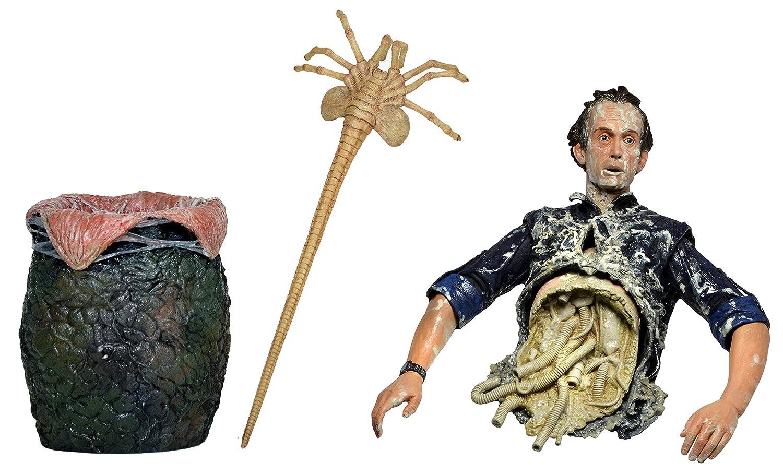 "NECA Aliens Bishop Queen Attack Damaged 7/"" Action Figure Alien Series 5 Doll"