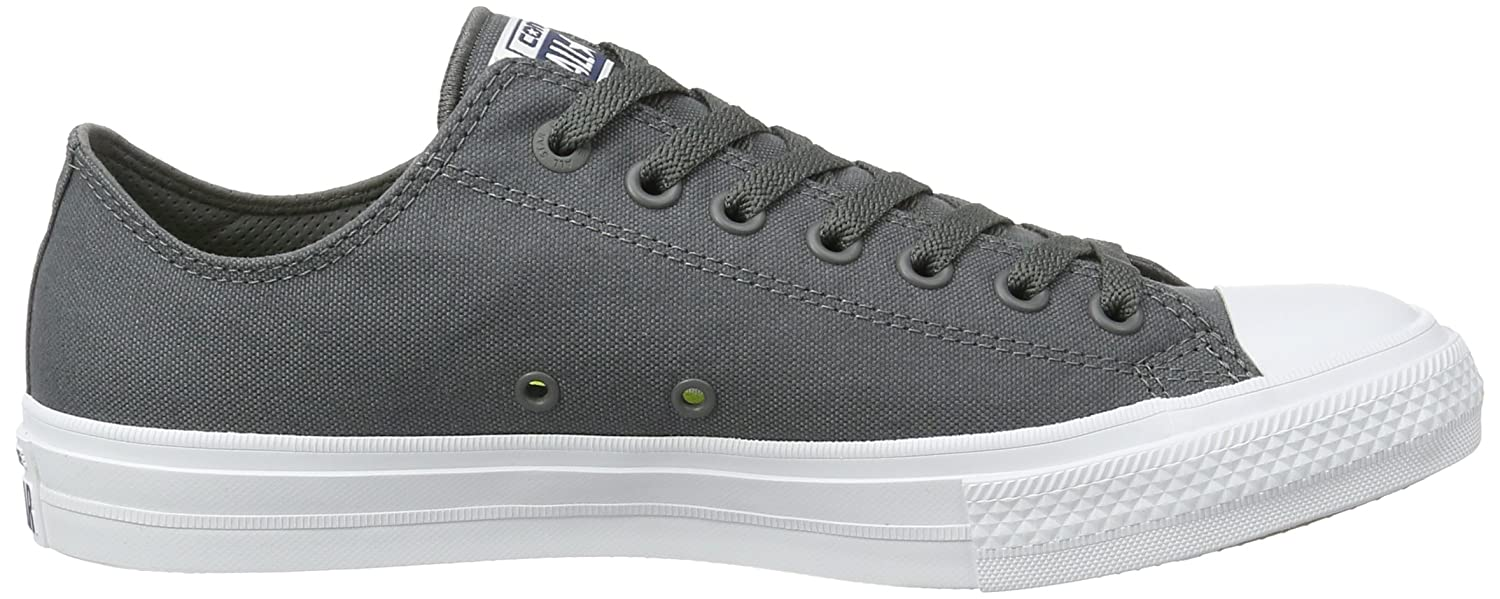 682ca4f51f90 Converse Mens Chuck Taylor All Star Low II Sneaker Thunder 11.5 D(M) US   Buy Online at Low Prices in India - Amazon.in