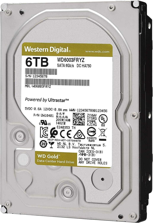 HD 6TB WD GOLD (WD6003FRYZ)...