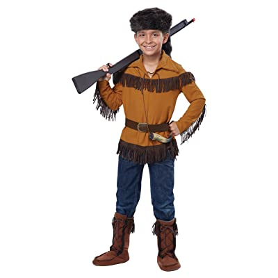 California Costumes Frontier Boy/Davy Crockett Costume, Medium, One Color: Toys & Games