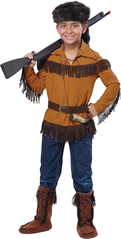 California Costumes Frontier Boy/Davy Crockett Boy Costume