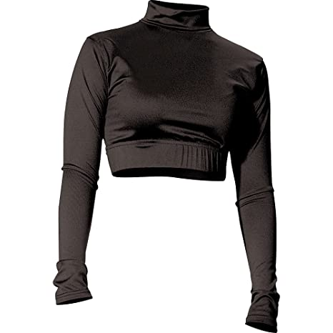 Amazon.com   Alleson Cheer Midriff Top   Sports   Outdoors 491750530