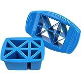 FunBites Food Cutter, Blue Triangles