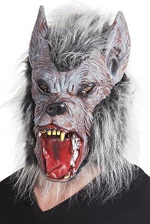 Fasching Fete Halloween Disfraz hombre lobo cabeza máscara de ...