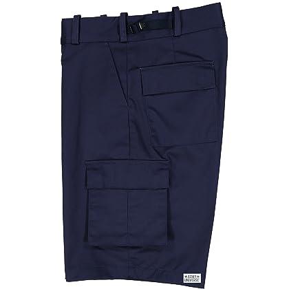 ... Navy Blue Uniform 8 Pocket Cargo Shorts 6f832621caa