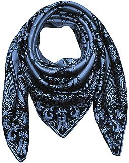 Lorenzo Cana Foulard pour la femme – écharpe de 100% soie pour le printemps  et 602309a8cbb