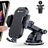 Andobil Car Phone Mount Easy Clamp, Ultimate Hands-Free Phone Holder for Car Dashboard Air Vent Windshield, Super…