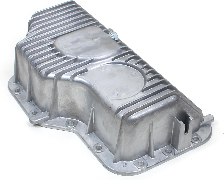 W//O Oil Level Sensor Hole and RTV Gasket Silicone CNU741SI Brand New Engine Oil Pan
