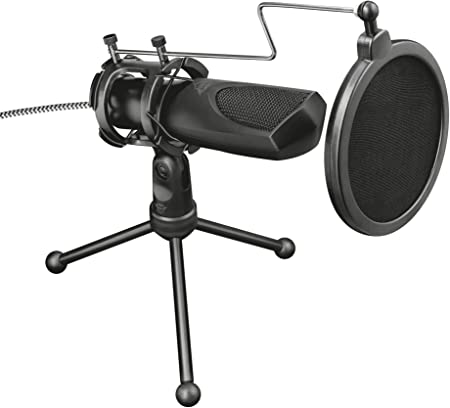 Trust Gaming Mantis Usb Streaming Mikrofon Für Pc Ps4 Computer Zubehör