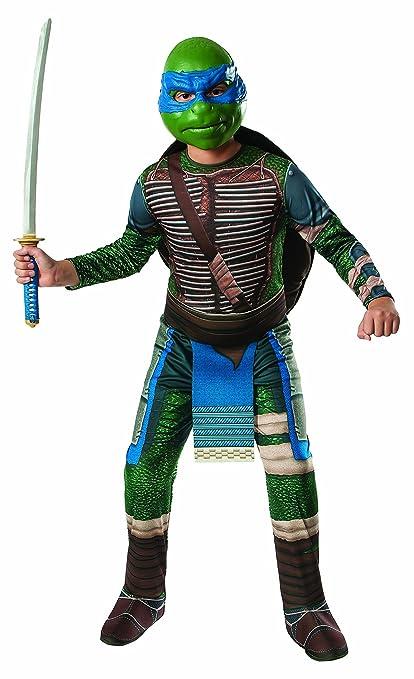 Rubies Disfraz de Leonardo Tortugas Ninja Movie para niño ...