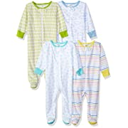 Onesies Brand Baby 4-Pack Sleep 'N Play, Clouds, 0-3 Months