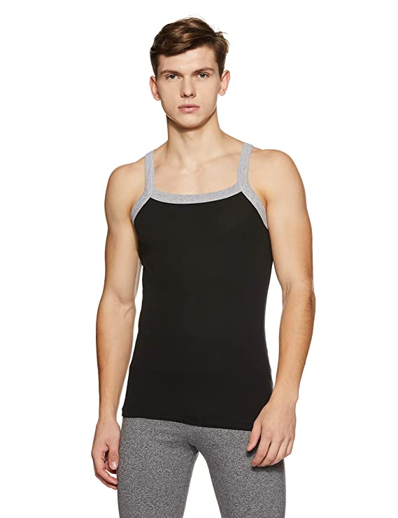 Hanes Men's Cotton Vest Men's Underwear Vests at amazon