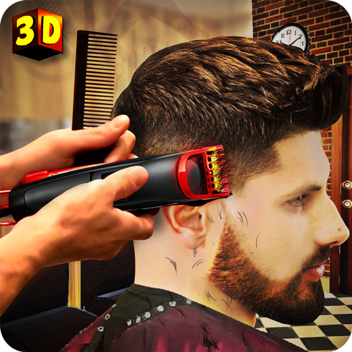 Hair Salon Fun Game: Barber Shop Hair Cutting Games (Clipper Hear)
