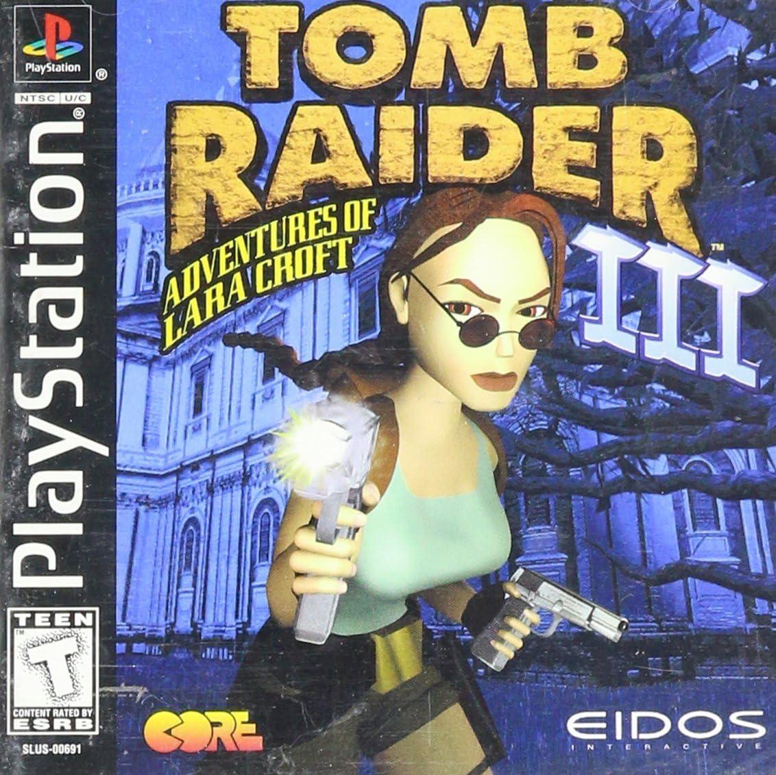 PS1 - Tomb Raider 3: Adventures of Lara Croft: Amazon.es: Videojuegos