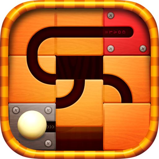 Unroll Ball - Slide Puzzle Ruby Slide