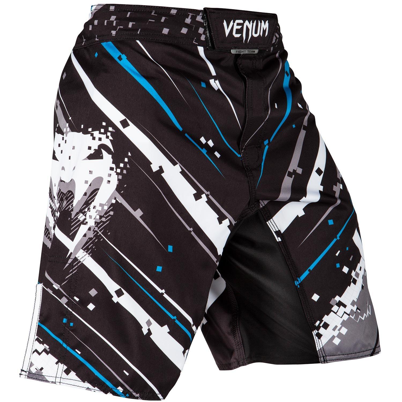 VENUM[ヴェヌム] ファイトショーツ Pixel ピクセル (黒/グレー) B01N0BNE7P  XL
