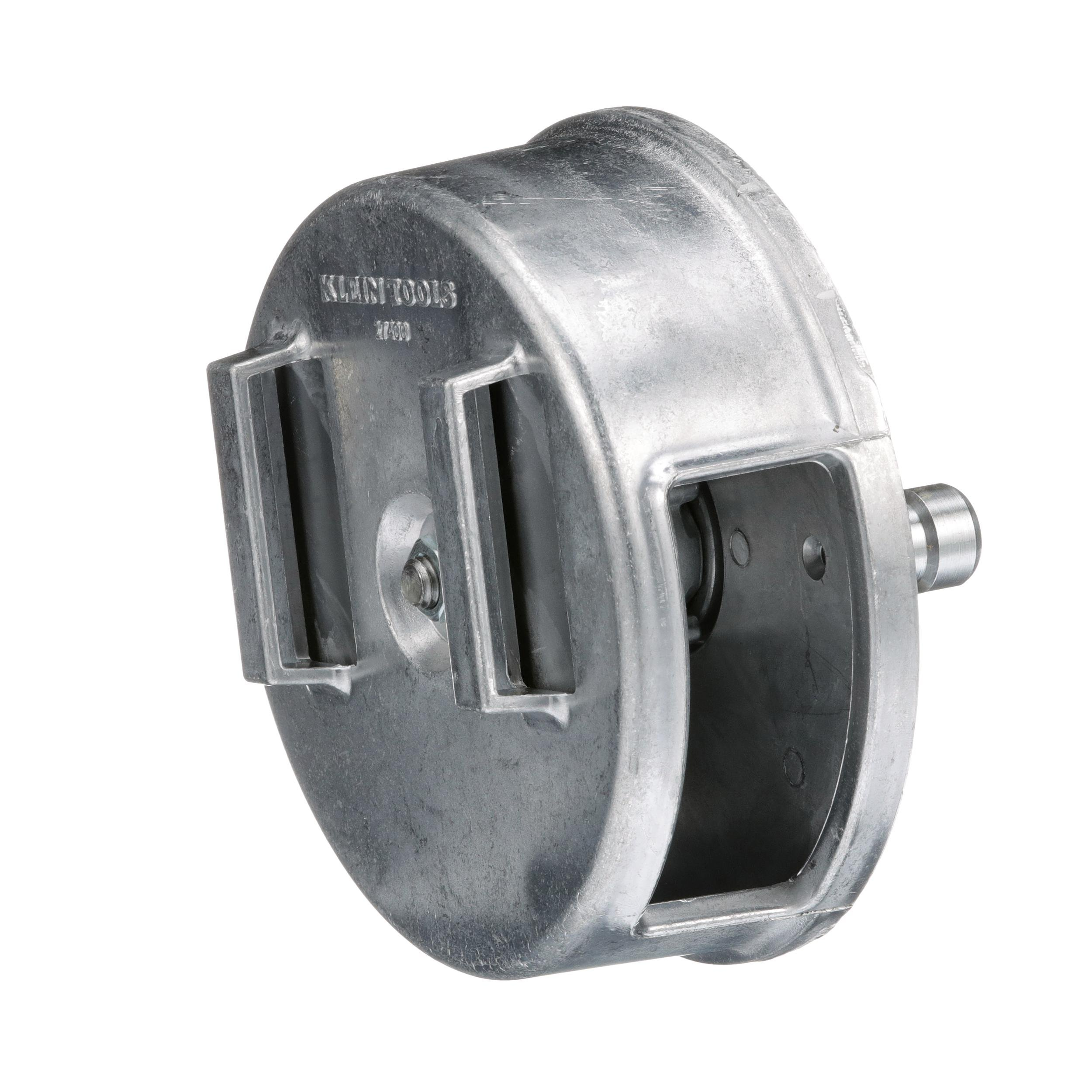 Tie-Wire Reel, Lightweight Aluminum, Left Handed and Right Handed Klein Tools 27400 by Klein Tools