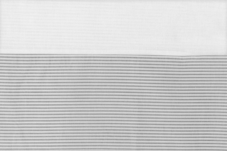 DRAP HOUSSE pour Matelas de la NACELLE DU LANDAU 75-80x35cm Fabriqu/é UE pas de substances nocives Bleu Et Blanc C 100/% COTON Vizaro