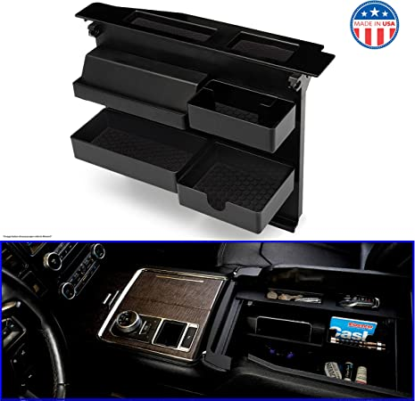 JOJOMARK for Ford F150 Expedition Accessories Dash Center Console Table Storage Tray for Ford F150 2015-2020 and Ford Expedition (2018-2020)