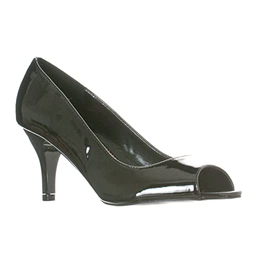 Women's Peep Toe Synthetic Dress Pump