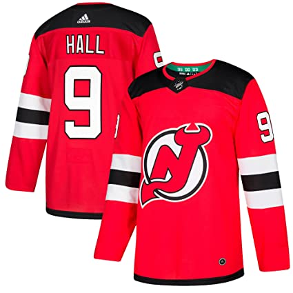 d977fad35 Amazon.com   adidas Taylor Hall New Jersey Devils Authentic Home NHL ...