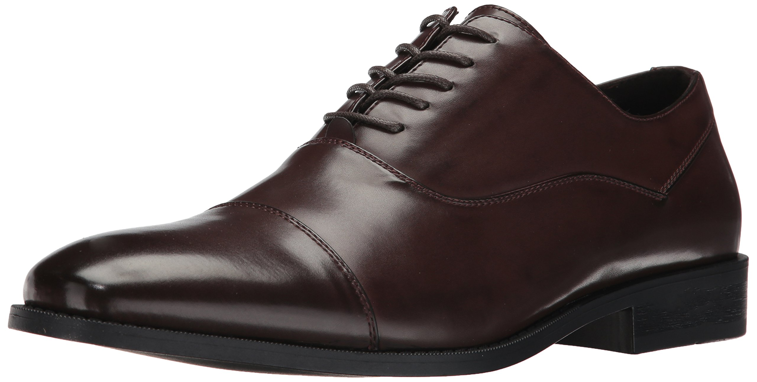 Unlisted by Kenneth Cole Men's Half Time Oxford, Brown, 10.5 M US