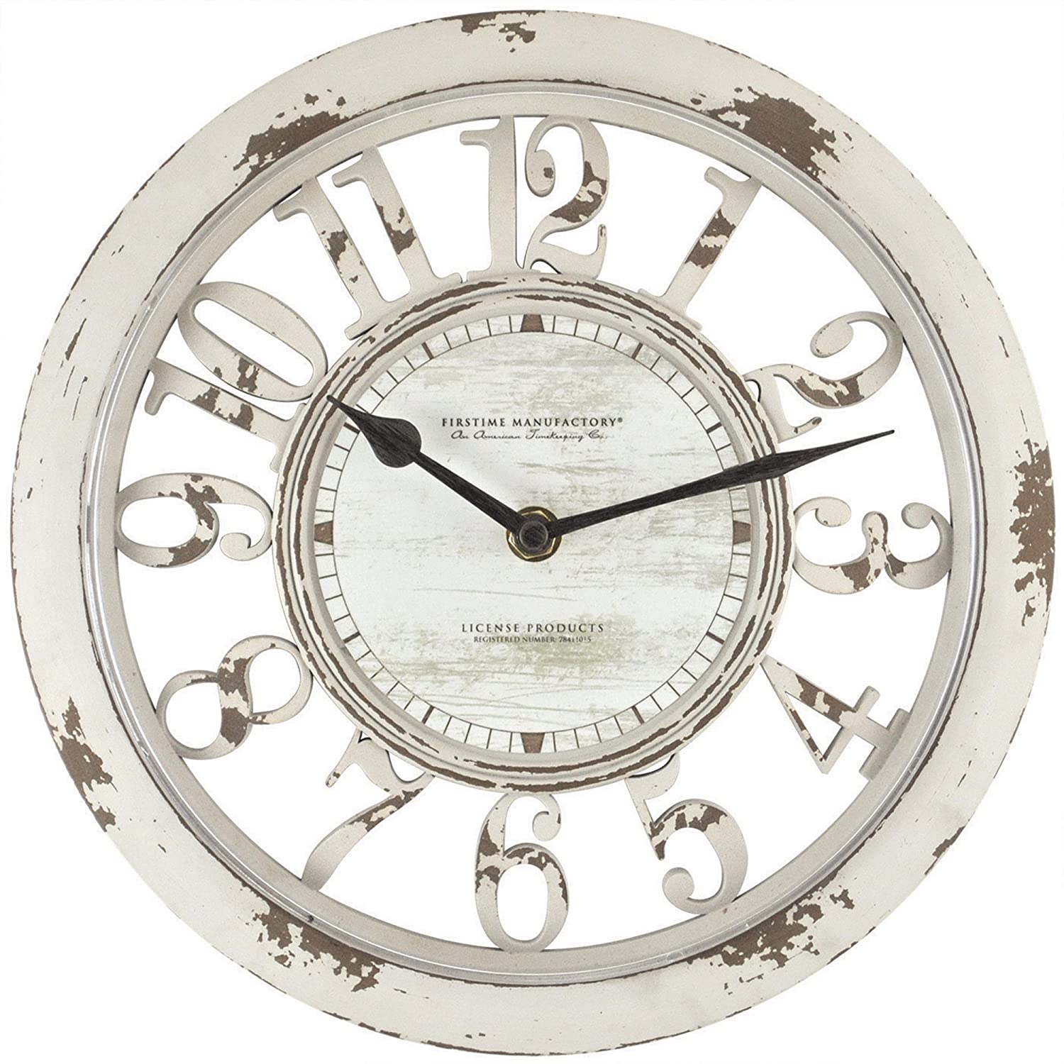 FirsTime Antique Contour Wall Clock FirsTime & Co. 10047